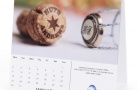 Small Personalised Desk Calendars